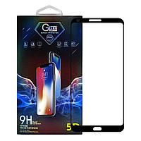 Защитное стекло Premium Glass 5D Full Glue для LG G6 Black