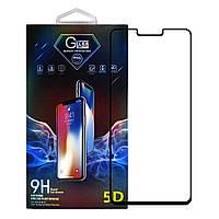 Защитное стекло Premium Glass 5D Full Glue для LG G8 Black