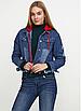 """Стильна джинсова куртка зі знімним капюшоном """"Кеймбрідж"""", фото 2"""
