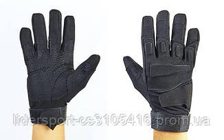 Перчатки тактические с закрытыми пальцами BLACKHAWK  (р-р L-XL, цвета в ассортименте) Распродажа!