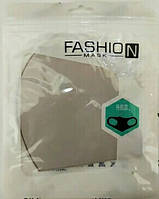 Маска питта плотная тканевая многоразовая защитная Fashion