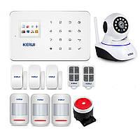Сигнализации GSM KERUI G-18 для 3-комнатной квартиры profi star (DJFDHHDF67FDJF)