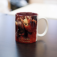 Кружка чашка Bounty Hunter Dota 2