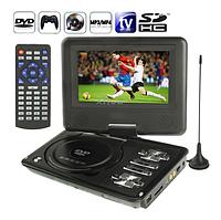 Портативный DVD-плеер 789, DVD проигрыватель TV/USB/SD, двд плеер в автомобиль, переносной DVD, 7 дюймов