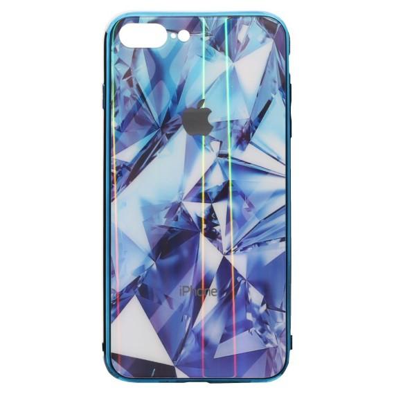 Силикон Case Original Glass Силиконовый 3D чехол Prism для Apple iPhone 7/8 Plus