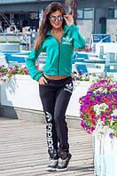 """Стильный утеплённый женский спортивный костюм на байке 1181 """"Адидас Спорт"""" в расцветках"""