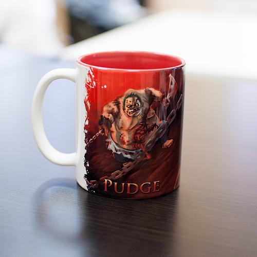 Кружка чашка Pudge  Dota 2