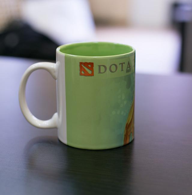Кружка чашка Naga Siren Dota 2