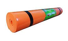 Йогамат, коврик для фитнеса (Черный), фото 3