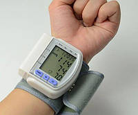 Тонометр автоматический CK-102S, для измерения давления и пульса, аппарат для измерения давления на запястье