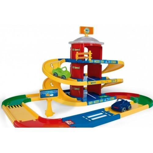 WADER Kid Cars 3D детский паркинг 3 этажа с дорогой 4,6 м 53040
