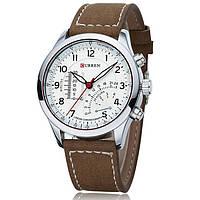 Мужские армейские часы Curren Chronometer Soldier Белый, фото 1