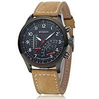 Мужские армейские часы Curren Chronometer Soldier Черный, фото 1