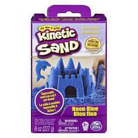 Набор для творчества KINETIC SAND Кинетический песок Neon (Голубой) (71423B)