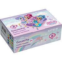 Гуаш Kite Shimmer&Shine SH20-062 6 кольорів