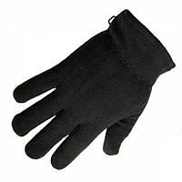 Перчатки флисовые Max-Fuchs Thinsulate Black, фото 1