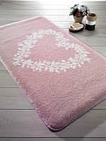 Коврик 57х100 Confetti Bella Spring Heart розовый