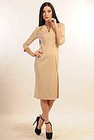 Платье женское осенне миди длинны трикотажное