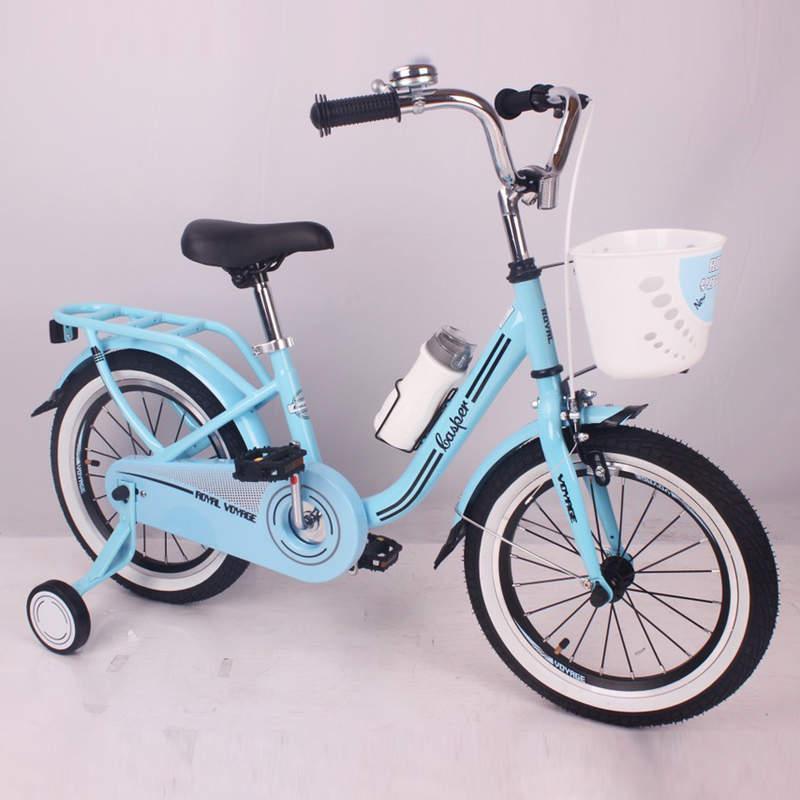 Детский двухколесный велосипед CASPER-16 синий 16 дюймов