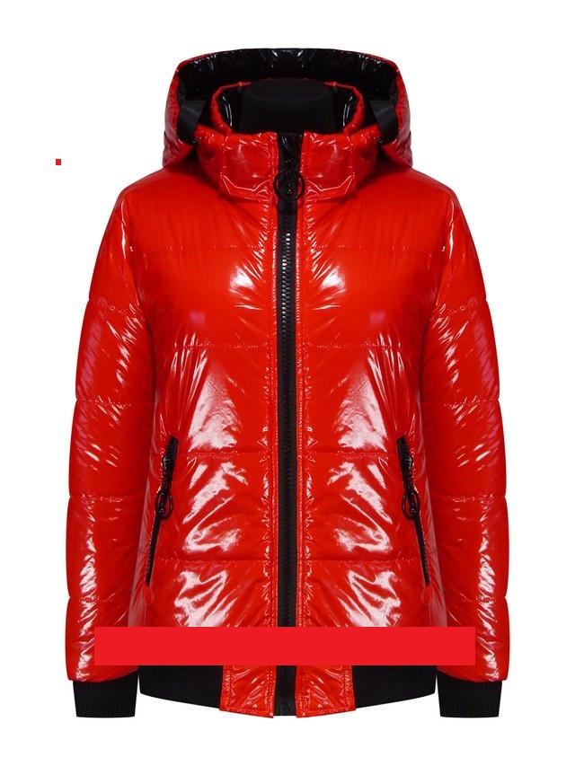 Куртка детская демисезонная лаковая для девочки TLN Kids 210 | размеры на рост 122, 128, 140