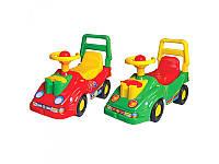 Каталка автомобиль  ТехноК 2490 красный,синий,зеленый.