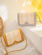 Милая повседневная сумка клатч  на ремешке, фото 3