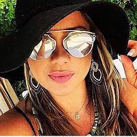 Солнцезащитные очки Dior So Real -зеркальные.