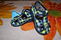 Обувь детская, р.18.  детские тапочки. Польская обувь. тапочки в садик