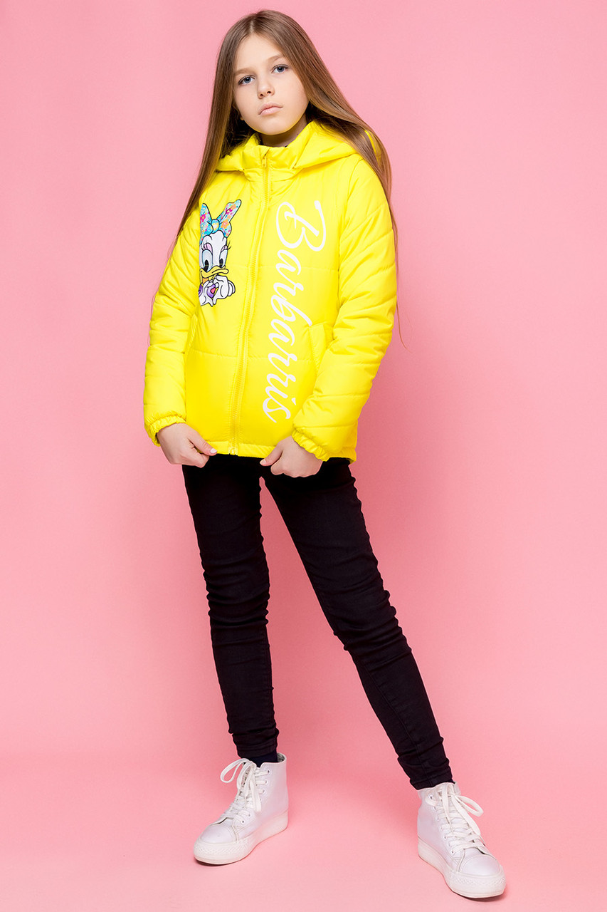 Куртка трансформер детская демисезонная для девочки vkd 26, размеры 110, 116, 122, 128, 134, 140, 146, 152