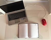 Защитная накладка на стол 600х400 мм толщина 0.6 мм прозрачная защитный коврик под ноутбук.