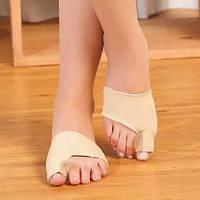 Корректор кости большого пальца ноги (ортопедический мягкий носок) Hallux