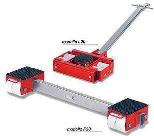 Роликова транспортна платформа для демонтажу верстатів F20 і L20 GKS-Perfekt