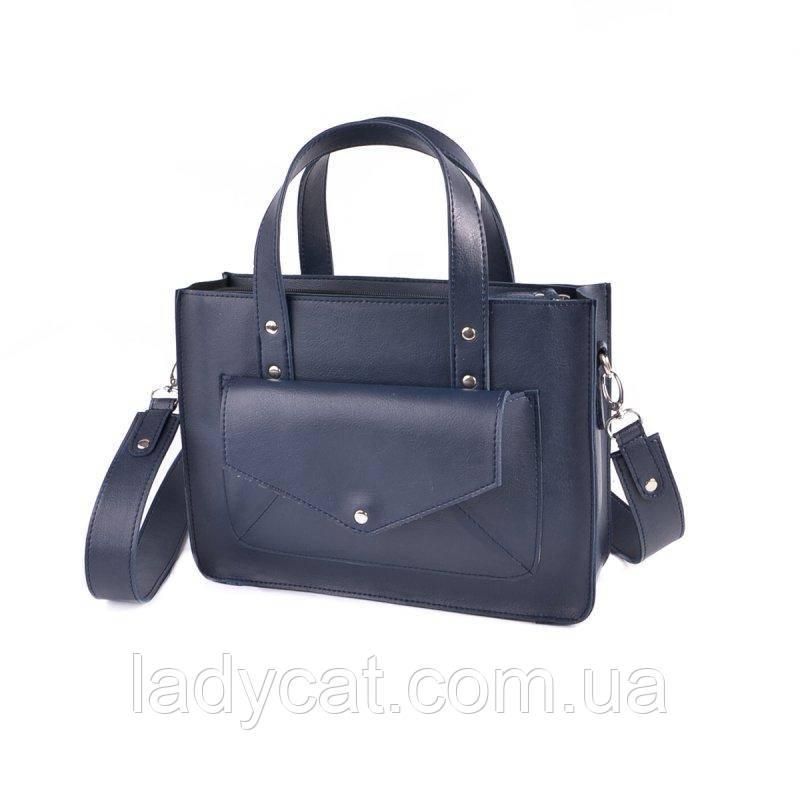 Женская сумка из кожзаменителя М255-62