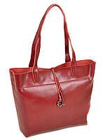 Женская сумка из натуральной кожи 10-03 J002 wine-red, фото 1