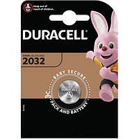 Батарейка дисковая Duracell CR2032-U1 DSN Lithium, 3V блистер