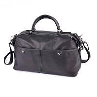 Жіноча сумка з натуральної шкіри М252 black, фото 1