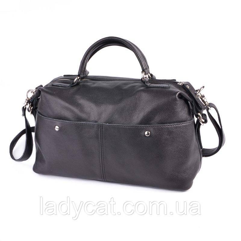 Жіноча сумка з натуральної шкіри М252 black