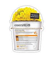 Питательная маска с экстрактом рапсового меда для сухой чувствительной кожи EssenHerb Canola Honey