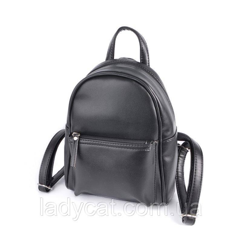 Женский черный рюкзак М124-33