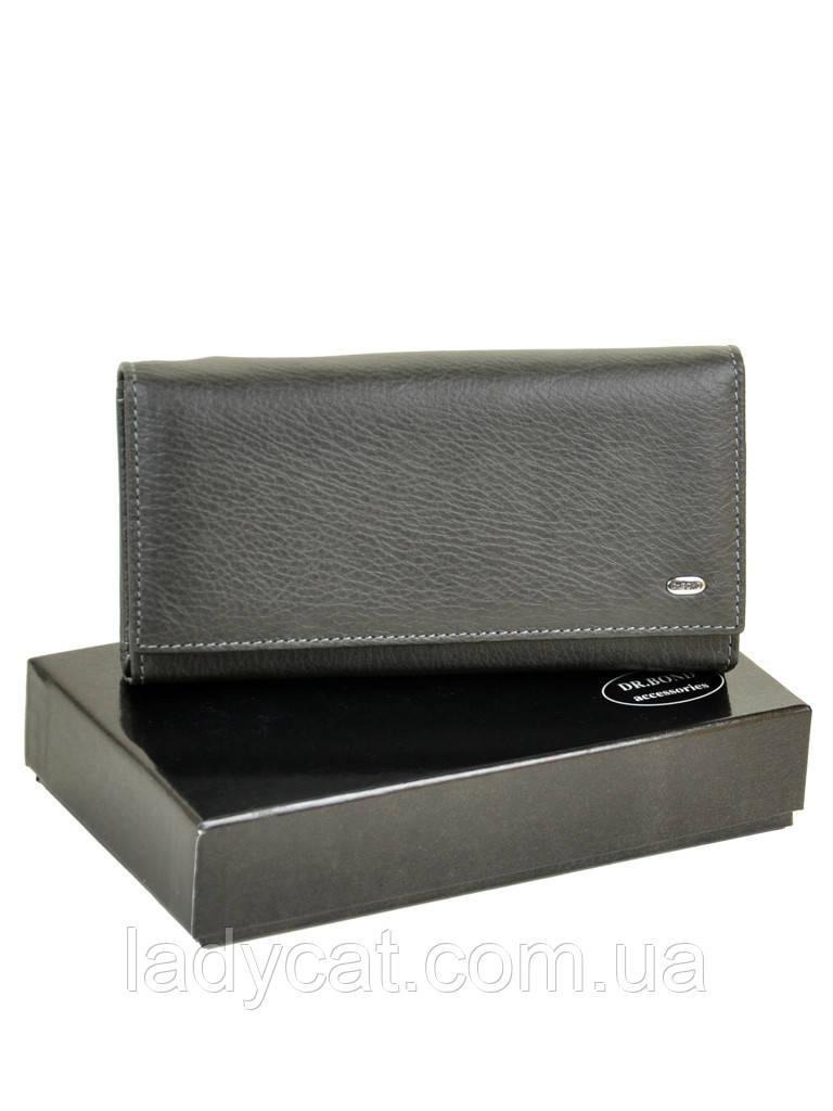 Кошелек Classic кожа DR. BOND W46 grey