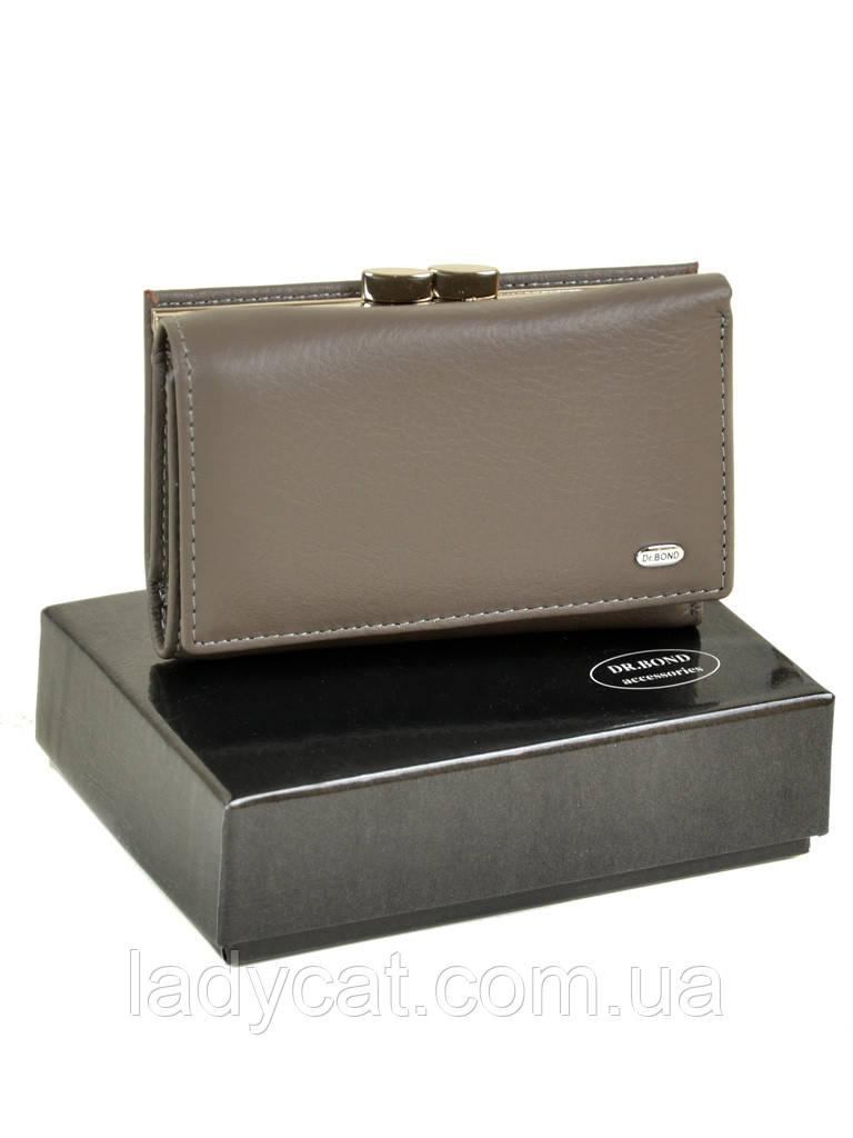 Кошелек Classic кожа DR. BOND W11-2 grey