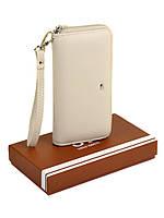 Женский кошелек-сумочка W38 beige, фото 1