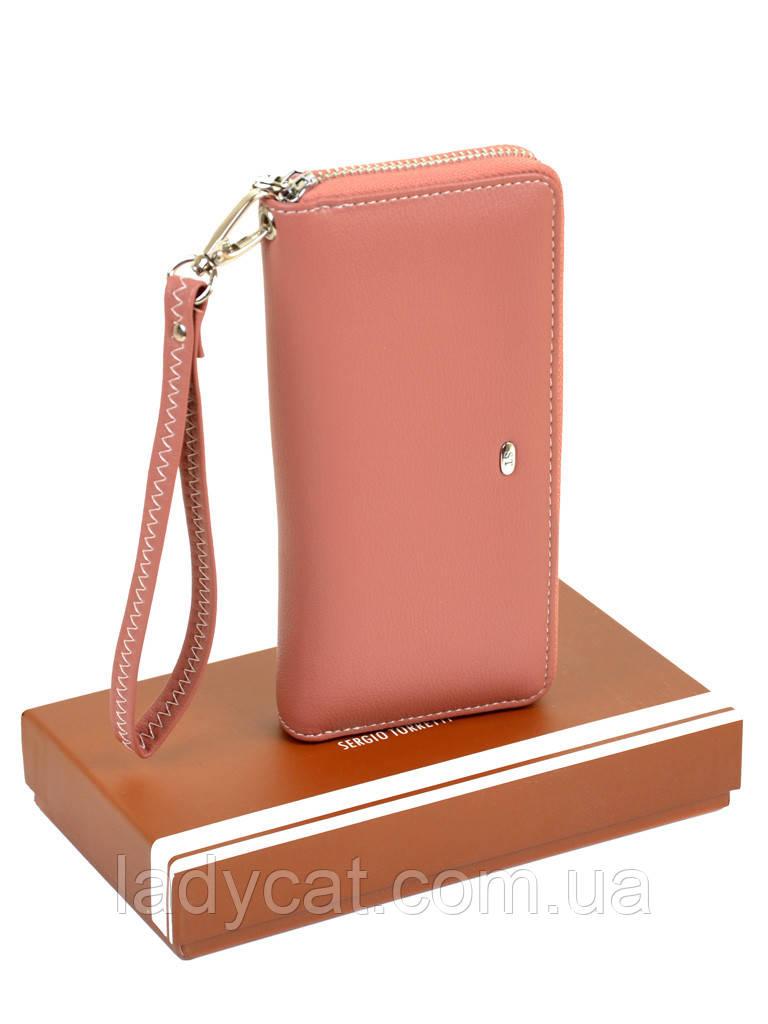 Женский кошелек-сумочка W38 light-orange