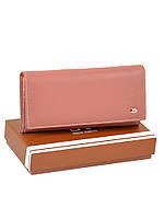 Большой женский кошелек из иск. кожи W501 light-orange, фото 1