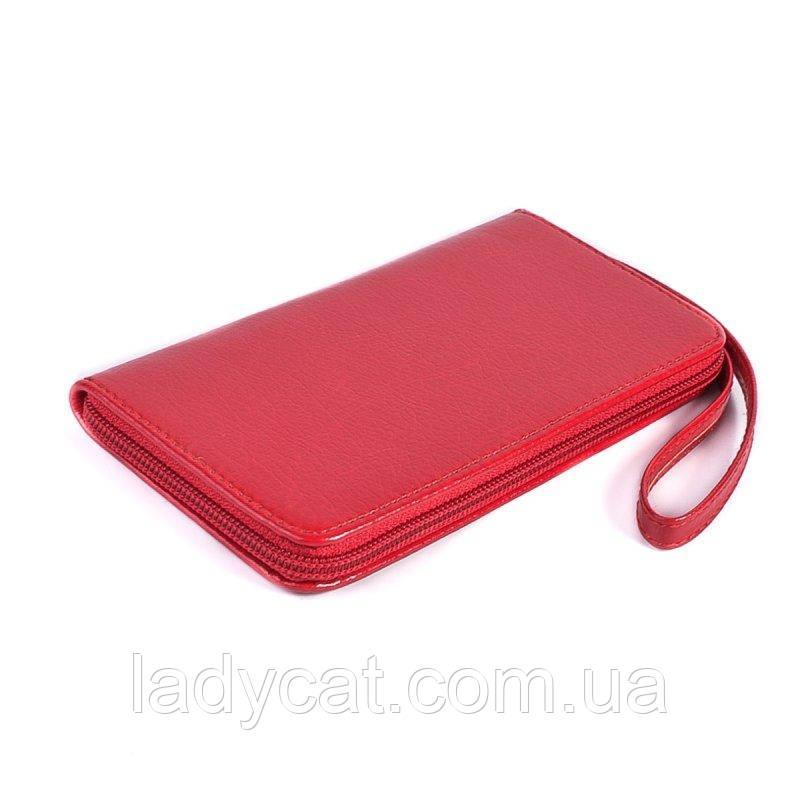 Универсальный чехол для телефона красного цвета