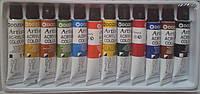 Акриловые краски 12 цв по 12 гр