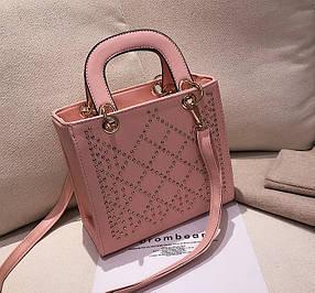 Каркасная деловая сумка с красивым дизайном