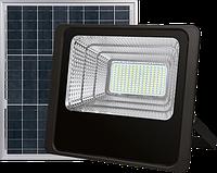 Светодиодный Led Прожектор c солнечной панелью и пультом NEOMAX [25W, 6000K, 2000Lm] 220V NXS25SP