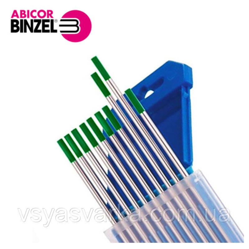 Вольфрамовий електрод WP D 4,8×175 мм (зелений) Abicor Binzel