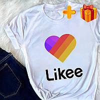 Детская футболка Likee (Лайк) для мальчика или девочки Popsocket (попсокет) в подарок (061)